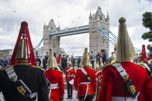 Armed Forces Day Flag Raising Ceremony, City Hall, London, Britain
